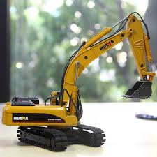 2019 1:<b>50 Large Excavator</b> Children'S Alloy Car Model Engineering ...