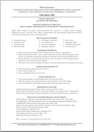 Resume Examples  Example Of Resume For Medical Assistant With Career Summary And Professional Experience As