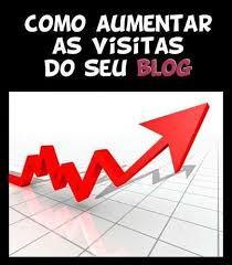 Como aumentar visitas no meu blog http://www.cantinhojutavares.com