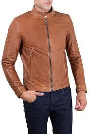 <b>Кожаная куртка AD MILANO</b> арт 0054_TAN TAN/G17031723898 ...