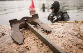 <b>Vintage anchor</b> recovered from Otonabee River south of ...