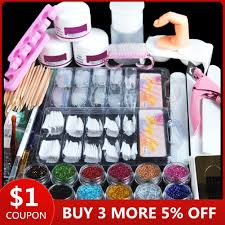 Nail Art <b>Set 36W UV</b> Led Lamp Dryer With 6/10/12 Color Gel Nail ...
