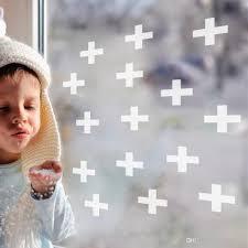 <b>18pcs</b> set kid's bedroom PVC <b>wall</b> stickers <b>cross</b> plus <b>wall</b> decal for ...