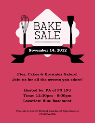 fall bake flyer up some baked goodies this fall bake flyer