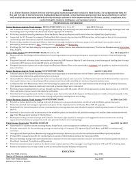 Finance Resume Advice Resume For Hedge Funds Private Equityresume Business Analyst eluded co