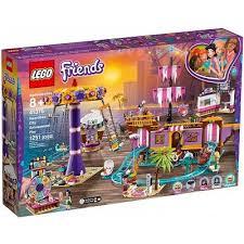 Конструктор <b>LEGO Friends Прибрежный</b> парк развлечений 41375
