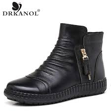 jawakye ankle rivets studded brown genuine leather boots women diamond heel shoes pointy toe sexy winter