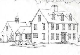 Classic Colonial HomesClassic Colonial HomesCChonline Colonial House Rendering