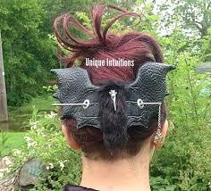 Bat Hair Slide Bird Stick Barrette Gothic <b>Bat Skull</b> Hair | Hair ...