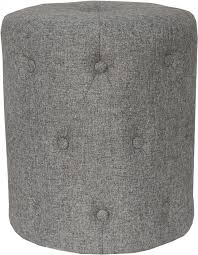 Buy <b>Upholstered Stool</b> - <b>Dark Grey</b> at UK's Lowest Price | Free ...