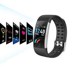<b>Alfawise I7E ECG</b> Monitor AI Intelligent Analysis Smart Bracelet ...