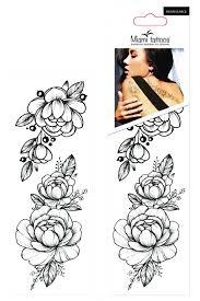 Miami Tattoos Временные татуировки Black Tattoo набор ...