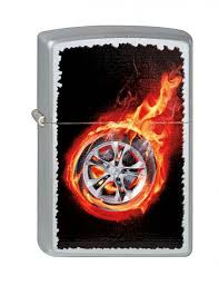 <b>ZIPPO ЗАЖИГАЛКА 205 TIRE</b> ON <b>FIRE</b>