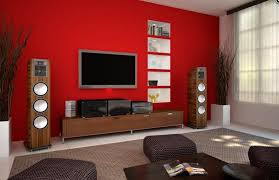 room paint red: red living room paint color with tv nice room with television idea for small family living room tv cabinet pinterest paint colors nice and living