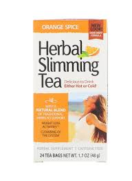 Shop 21st CENTURY <b>Orange</b> Spice <b>Herbal Slimming Tea</b> 24 Tea ...