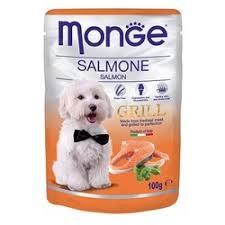 <b>Monge Dog Grill</b> Pouch <b>паучи</b> для собак c лососем - 100 г   Купить ...