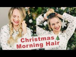 <b>Christmas</b> Morning Hairstyles <b>2018</b> (Fast and Easy <b>Hair</b>!) - YouTube