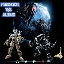 The <b>Aliens</b> And <b>Predator</b> Building Blocks Fit With <b>Lego</b> Army ...