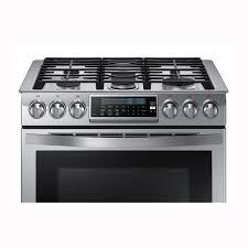 Gas Stainless Steel Cooktop Samsung 30 Slide In Gas Range Stainless Steel Pcrichardcom