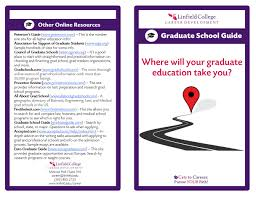 career resources linfield college graduate school brochure