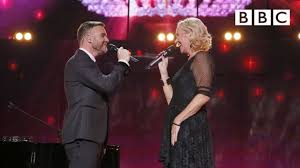 A legendary performance by Gary Barlow and <b>Agnetha Fältskog's</b> at ...