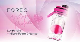 Праздничный подарочный набор FOREO LUNA fofo + Micro-Foam