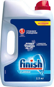 <b>Finish</b> Classic <b>порошок для ПММ</b>, 2,5 кг — купить в интернет ...