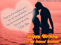 Birthday Wishes for Husband Messages, Greetings and Wishes ... via Relatably.com
