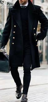 Fashion <b>Men's British</b> Style <b>Solid Color</b> Coats | Tall <b>men</b> fashion ...
