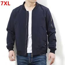 Spring jacket <b>Large size men's</b> clothing Add fertilizer to increase ...