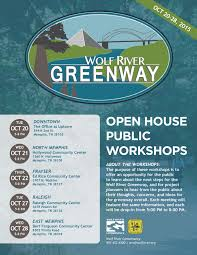 open house meetings scheduled for new segments of wolf river open house meetings scheduled for new segments of wolf river greenway