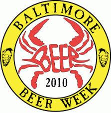 Baltimore Beer Week logo with crab