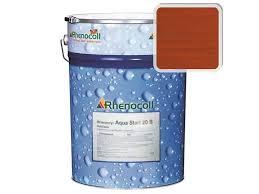 <b>Лак фасадный Rhenocoll Aqua</b> Start 20S махагон, шелковисто ...