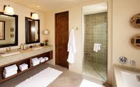 open bathroom vanity cabinet: likable small bathroom remodeling ideas showing double sinks f