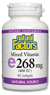 Vitamin <b>E</b> - <b>Natural</b> Factors United States