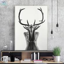 Best value <b>Antler</b> Oil Painting Canvas – Great deals on <b>Antler</b> Oil ...