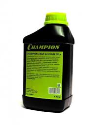 <b>Масло для смазки пильных</b> цепей и шин CHAMPION 1л - купить в ...