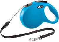 <b>Рулетка FLEXI</b> flexi <b>New Classic</b> XS до 8 кг 3м трос синяя – купить ...