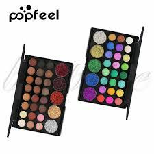 Popfeel <b>29 Colors</b> Makeup <b>Eyeshadow Palette</b> Earth <b>Color</b> Diamond ...