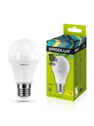 62% <b>Ergolux</b> Набор из 10 <b>светодиодных</b> лампочек <b>LED</b> 10W ...