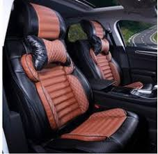 no odor <b>Carbon fiber leather car</b> seat covers for AudiA6 durable ...