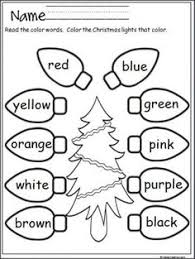 1000+ ideas about Christmas Worksheets on Pinterest | Worksheets ...Free Christmas lights coloring activity that provides practice with color words. Terrific for Pre-