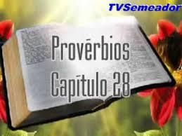 Resultado de imagem para imagens do capítulo 28 de provérbios