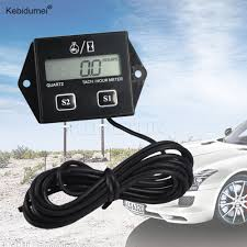 Kebidumei New Hot <b>Digital Engine Tach Hour</b> Meter Tachometer ...