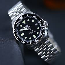 <b>STEELDIVE 1996 Japan</b> skx007 Small Abalone 316L Stainless ...