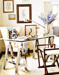 chic home office decor: home office designs decor pad via