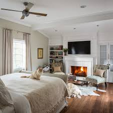 big master bedrooms couch bedroom fireplace:  master bedroom with fireplace