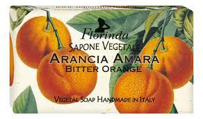 Купить <b>натуральное мыло Fiori</b> D'<b>Autunno</b> Arancia Amara 100г ...