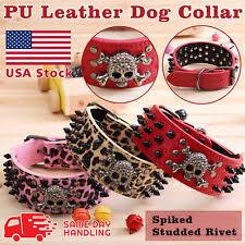 Metal Studded <b>Collar Dog</b> Collars for sale | eBay