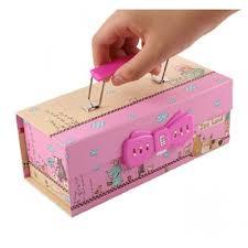 Ready Stock creative <b>Cute</b> Pencil box Hang carry multi layer ...